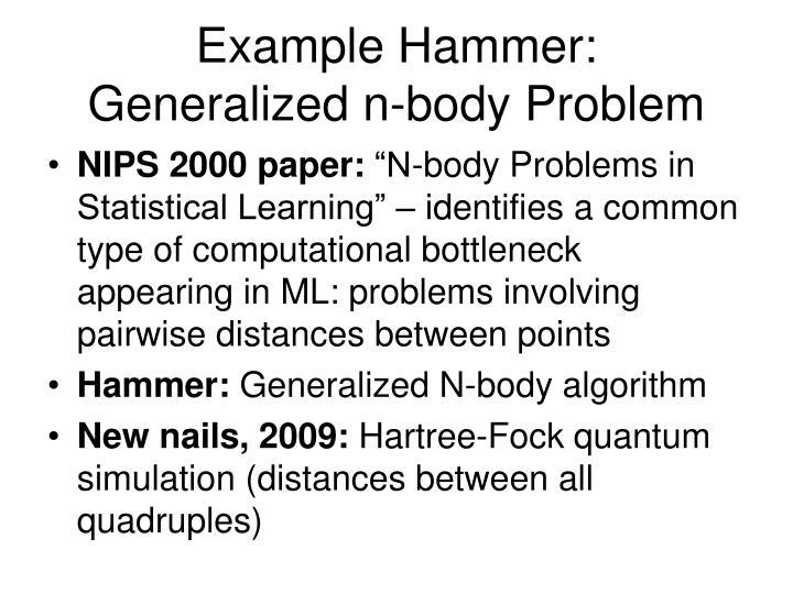 Example Hammer: