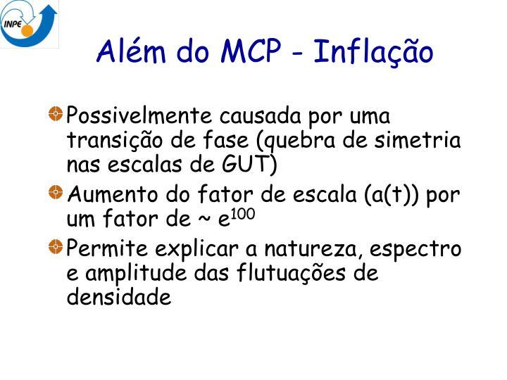 Além do MCP - Inflação