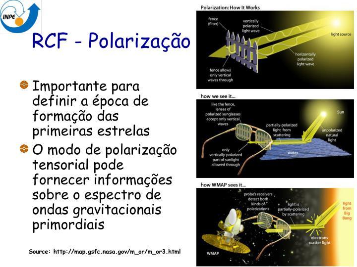 RCF - Polarização