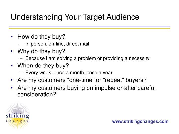 Understanding Your Target Audience