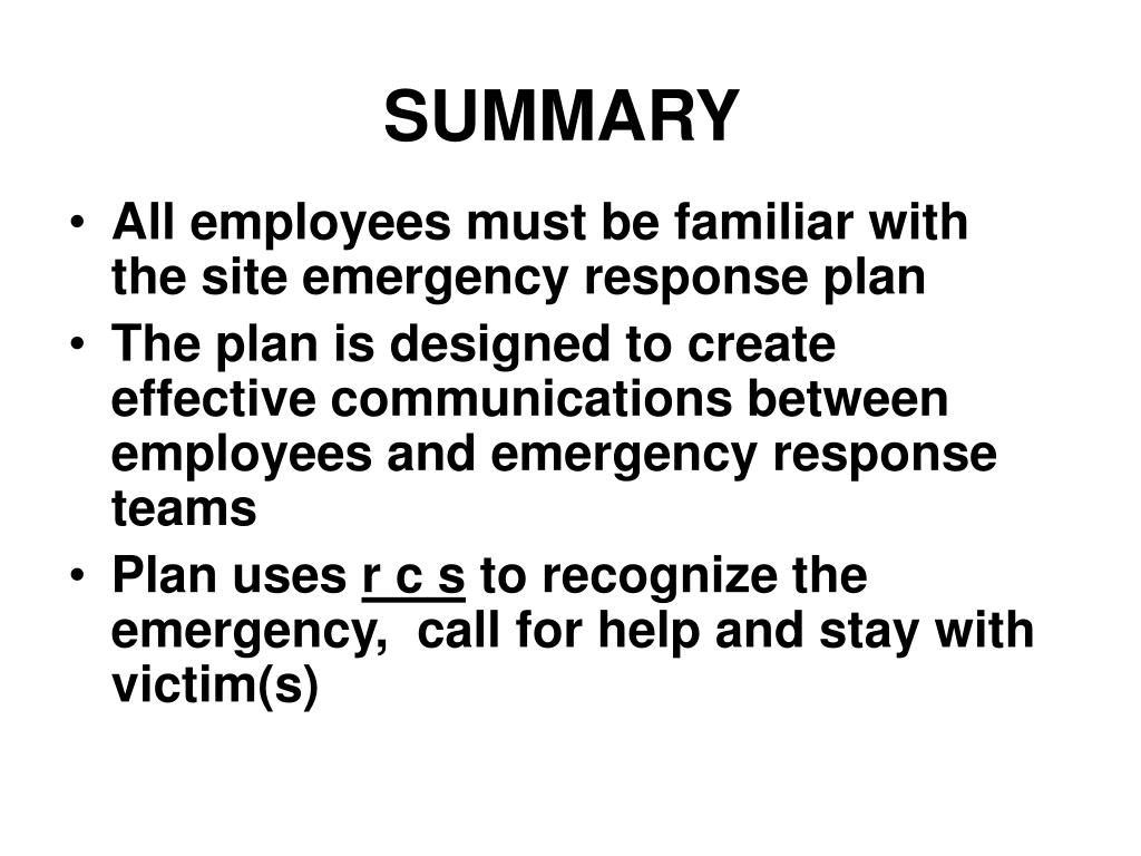 ppt - emergency action plan powerpoint presentation