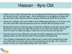 hassan 9yrs old