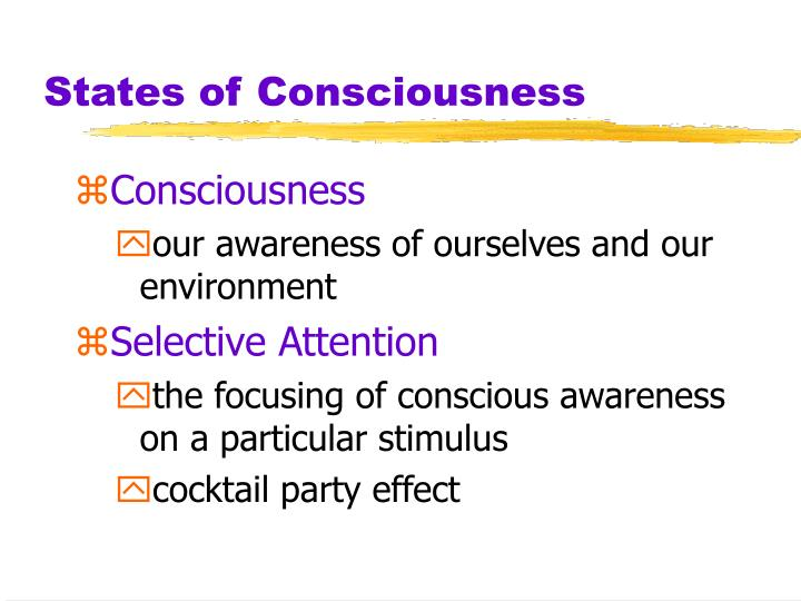 a look at the research of consciousness or state of awareness The researchers said that this state not only involves dreamless sleep, but also a certain amount of conscious awareness on the part of the person this proposed way of looking at dreamless sleep could aid memory research, the treatment of sleep disorders and our understanding of sleep states.