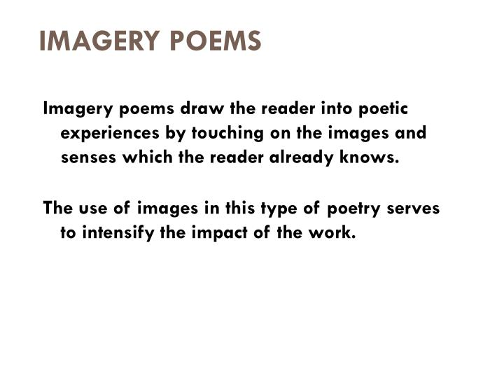 PPT Poetry What Makes A Poem A Poem PowerPoint Presentation ID