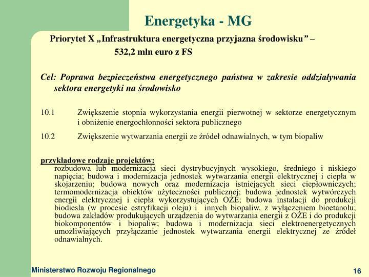 Energetyka - MG