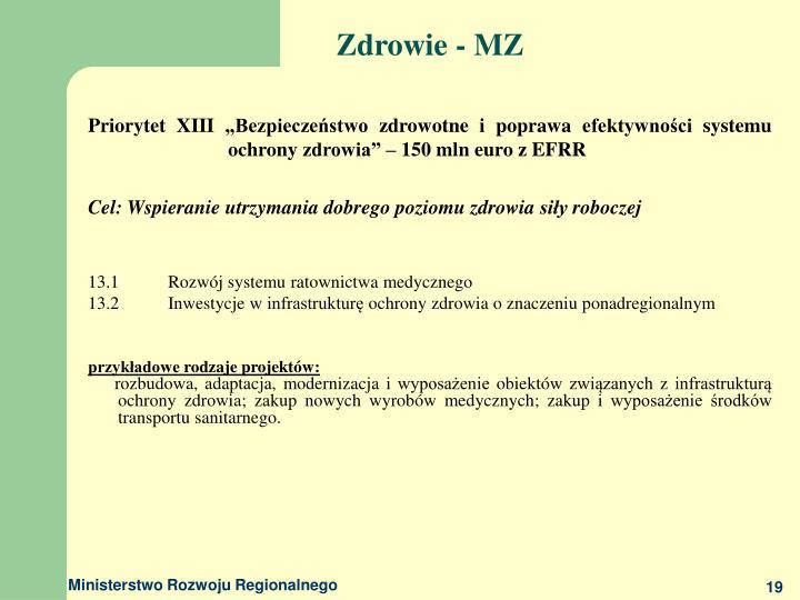 Zdrowie - MZ