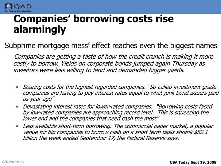 companies borrow at low rates but Low interest rates have benefits on the other hand, low interest rates encourage borrowing and higher debt levels costs of low interest rates.