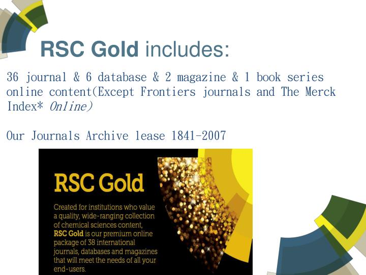 RSC Gold