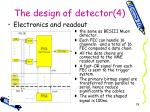 the design of detector 4