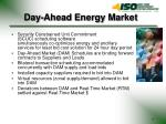 day ahead energy market