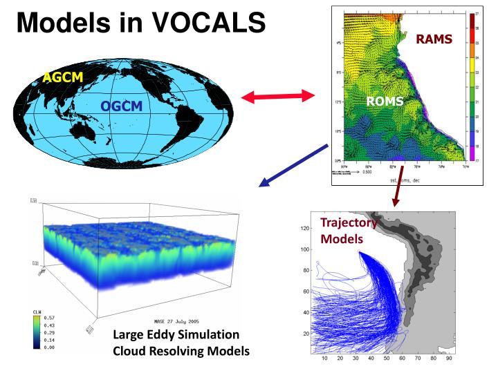 Models in VOCALS