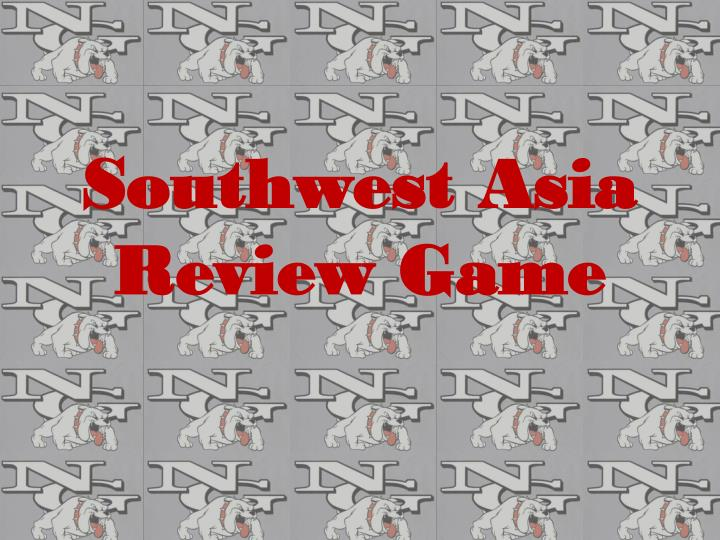 southwest asia review game n.