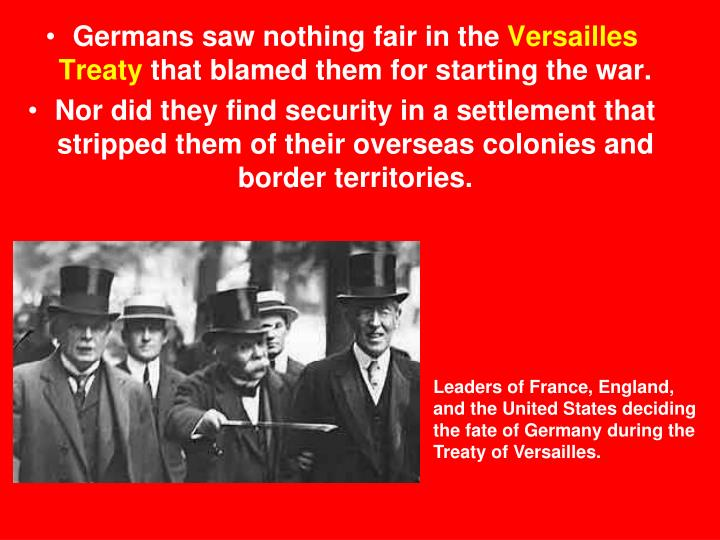 why the versailles treaty failed to bring The united states failed to support the league of nations there are a few reasons for this the league of nations was part of the versailles treaty ending world war i it was supposed to be an.