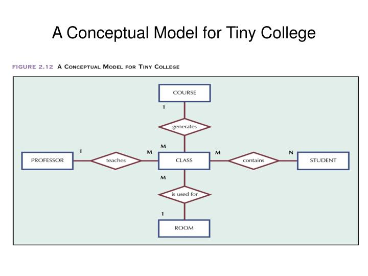 a conceptual model for tiny college n.