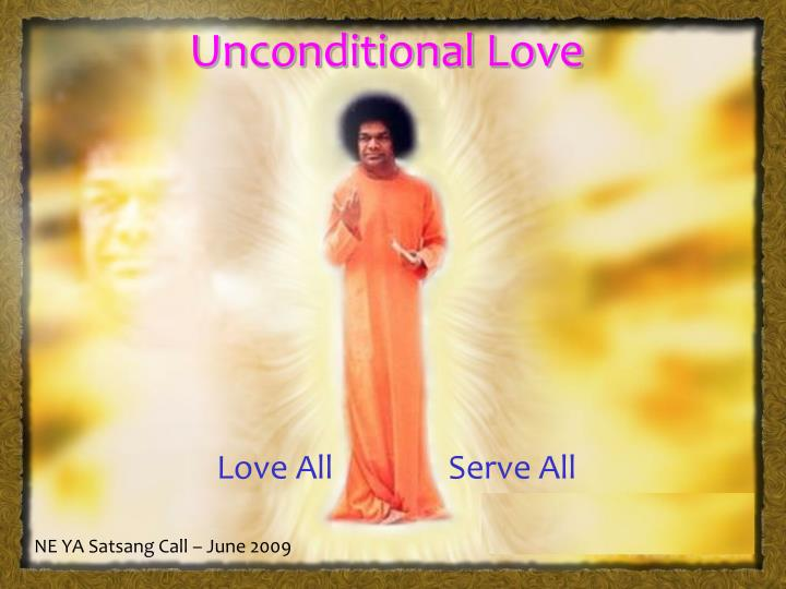 unconditional love n.