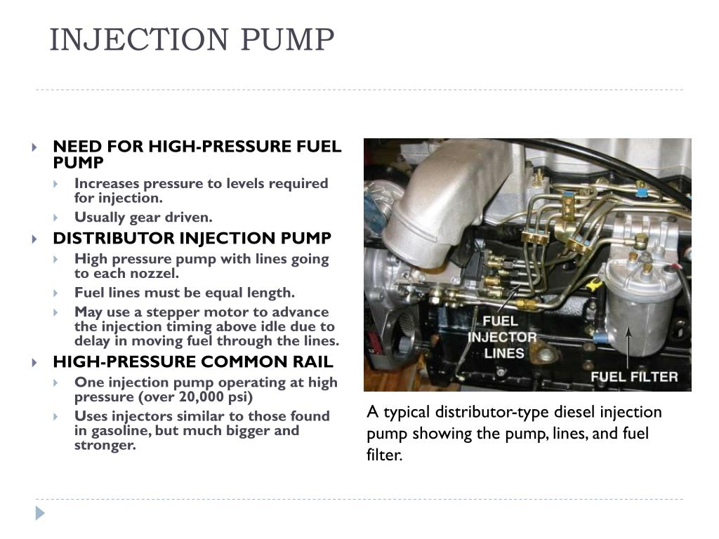 PPT - CHAPTER 11 DIESEL ENGINE OPERATION AND DIAGNOSIS