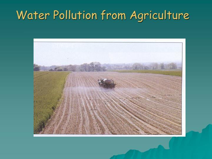 Is Fertilizer A Natural Water Pollution