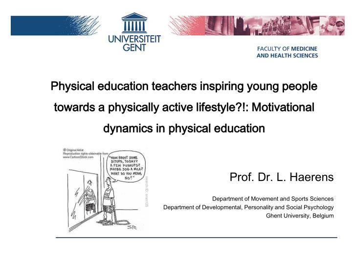 motivation in physical education 3522)21/motivational climate and pupils' motivation in physical education.