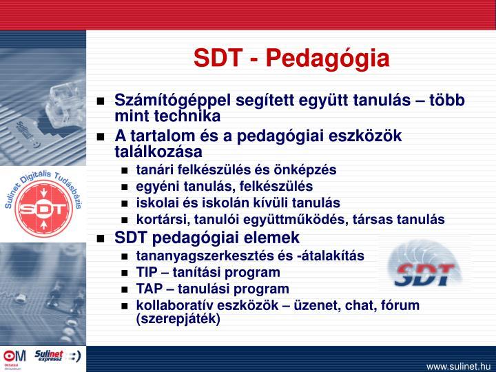SDT - Pedagógia