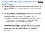 employer shared responsibility provisions key definitions