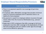 employer shared responsibility provisions1