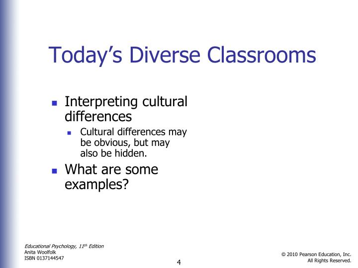 examples of cultural diversity in the classroom