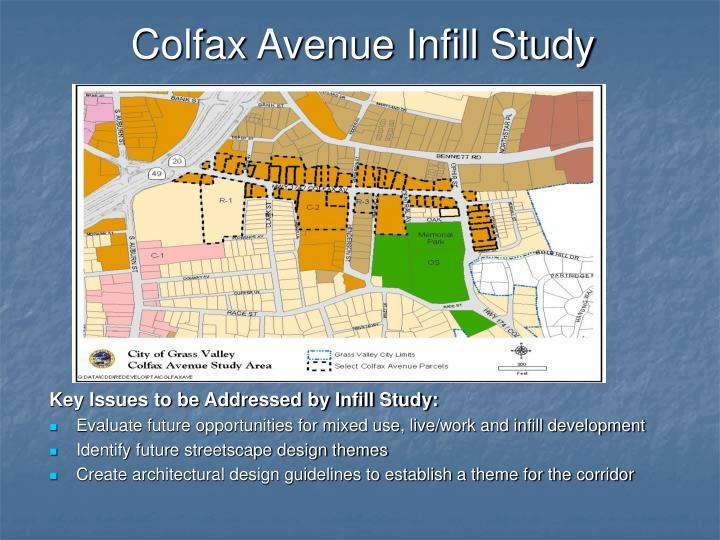 Colfax Avenue Infill Study