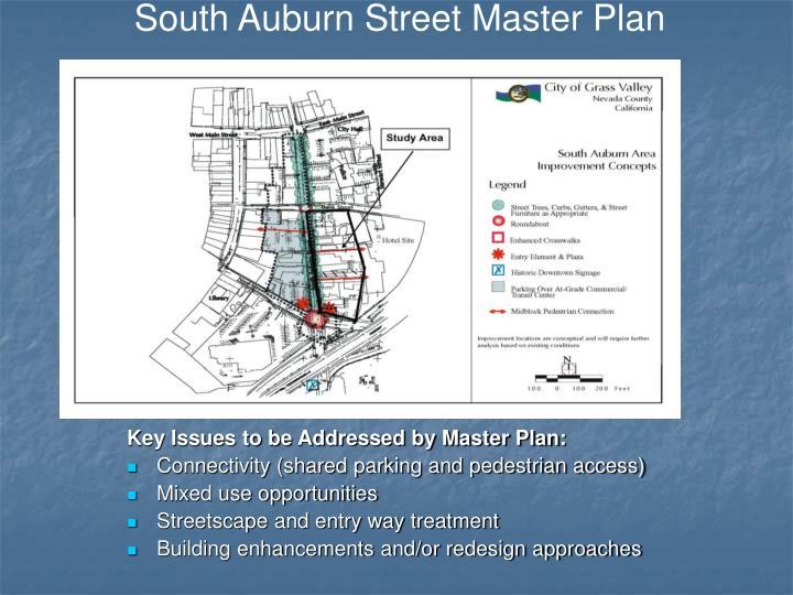 South Auburn Street Master Plan
