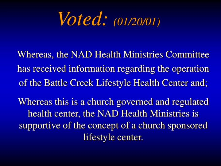 Voted: