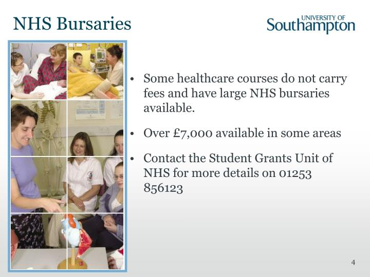 NHS Bursaries