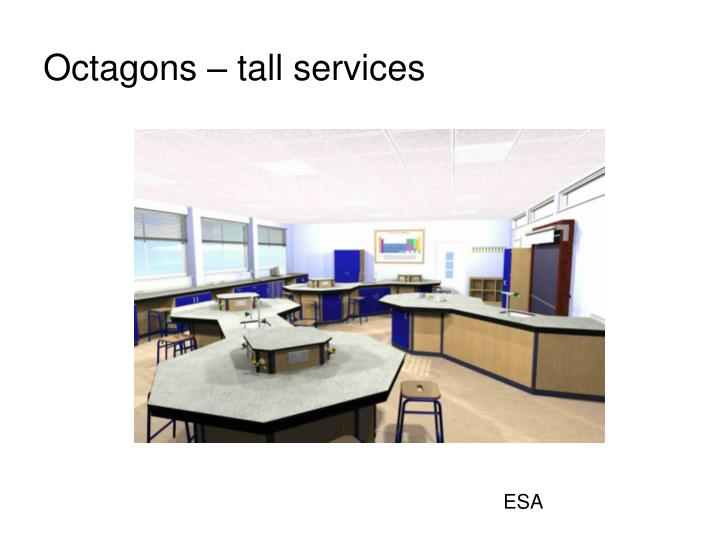 Octagons – tall services
