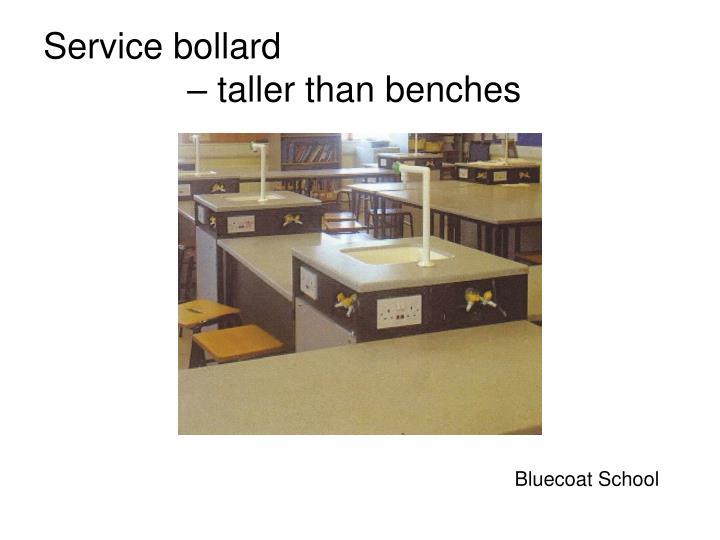 Service bollard