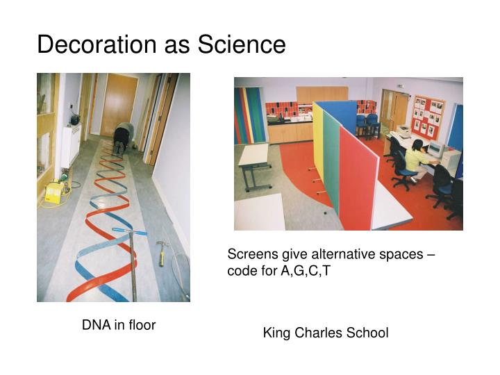 Decoration as Science