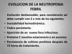 evolucion de la neutropenia febril4