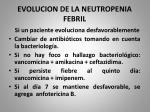 evolucion de la neutropenia febril5