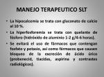 manejo terapeutico slt1