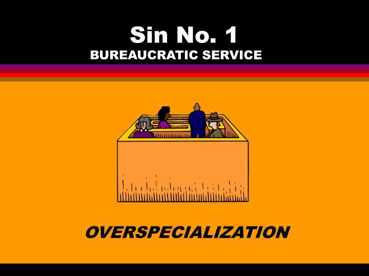 Sin No. 1