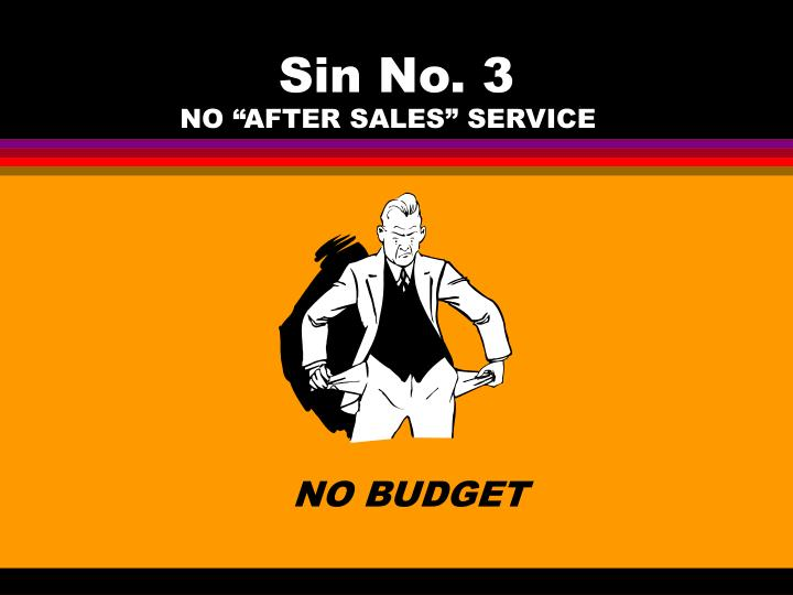 Sin No. 3