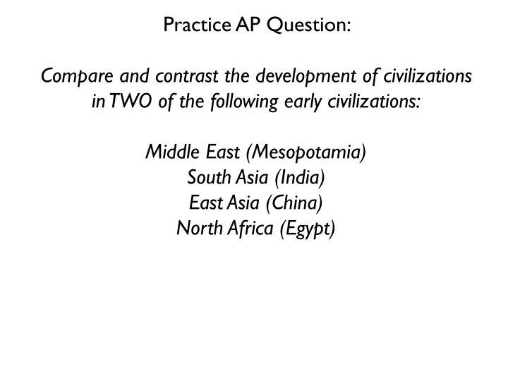 Practice AP Question: