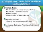 4 compaction en tunnels froids situation et solutions 6 fermes