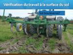 v rification du travail la surface du sol