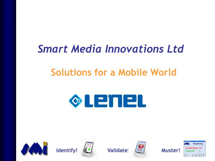 Smart media innovations ltd