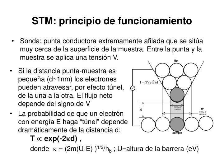 STM: principio de funcionamiento