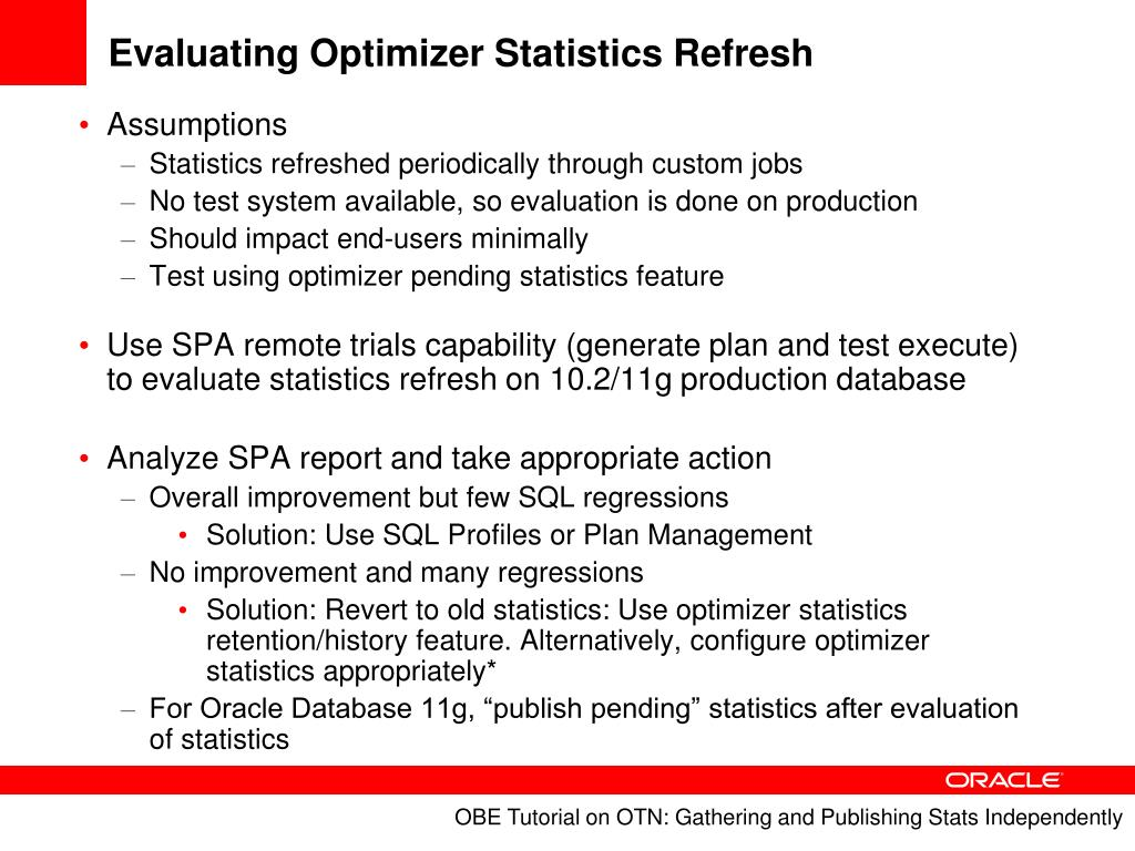 PPT - DBA's New Best Friend: Oracle Database 10g and 11g SQL