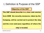 i definition purpose of the ssp1