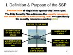 i definition purpose of the ssp2