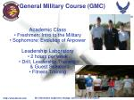 general military course gmc