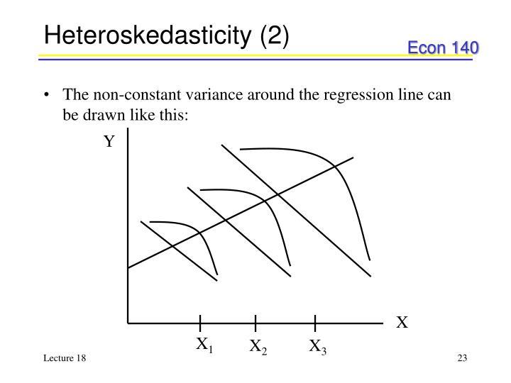 Heteroskedasticity (2)