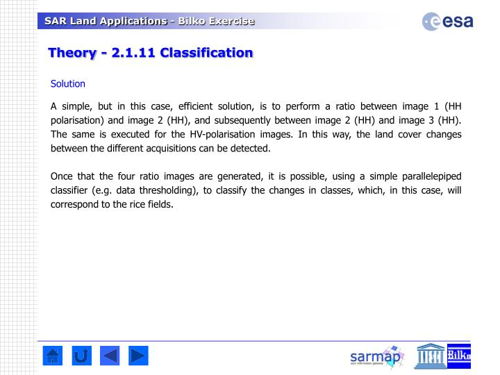 Theory - 2.1.11 Classification