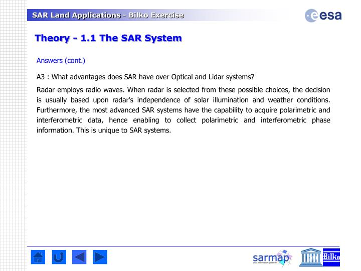 Theory - 1.1 The SAR System